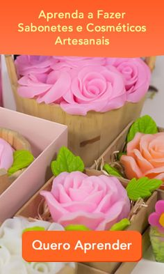Curso de Saboaria Artesanal Cake Decorating Tips, Home Made Soap, Natural Cosmetics, Soap Making, Decoration, Dyi, Diy And Crafts, Homemade, Make It Yourself