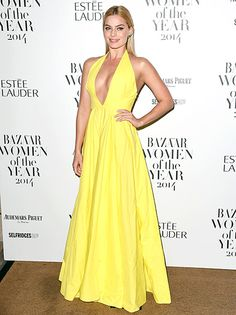 Margot Robbie Proves Blondes Can Wear Yellow in Breathtaking Dress - Us Weekly
