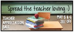 Teacher Appreciation Sale!!!  28% off! by theautismhelper.com