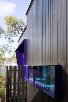Image 11 of 20 from gallery of TreeHouse / FMD Architects. Photograph by Shannon MacGrath Facade Architecture, Beautiful Architecture, Installation Architecture, Module Design, Sea Container Homes, Amazing Buildings, Construction, Mansions Homes, House Goals