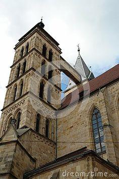 City church in the city Esslingen am Neckar