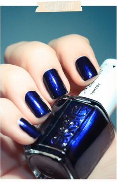 Essie Midnight Cami. This was WAY too dark for my tastes, but I think it would be beautiful on my mom!