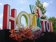 Sign design - Birmingham's version of The Hollywood sign