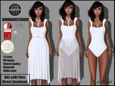 Meli Imako Full Perm Mesh Women s Short Robe FITMESH - Slink - Maitreya -  Belleza - Classic  91b6a5608