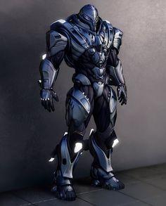 heavy droid suit