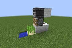 Minecraft Compact Auto Sugarcane Farm Steps - Minecraft Compact Auto Sugarcane Farm This Is A Tutorial For A Compact Automatic Sugarcane Farm