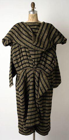 Dress   Issey Miyake (Japanese, born 1938)    Design House: Miyake Design Studio (Japanese)   Date: 1983   Culture: Japanese