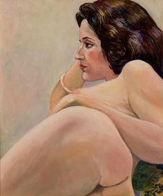 Elaine Dufor, 1979 © Sylvia Sleigh