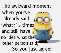 """Minion is a funny and beautiful character.And These Minion are so cute it will make you conscious.Just scroll down and keep reading these """"Top Minion Quotes Friends"""". Minion Humour, Funny Minion Memes, Minions Quotes, Funny Texts, Funny Jokes, Epic Texts, Funny Sarcastic, Minions Minions, Evil Minions"""