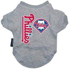 Philadelphia Phillies Dog Tee Shirt - Large #GingersDoggieHeaven