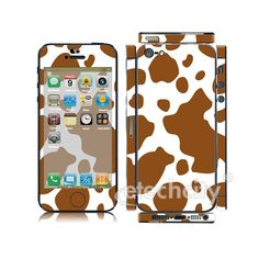 Animal pattern Skin Cover Screen Protector for Apple iPhone 5 (Style 2) [CCSK-PHVPL18] - $12.00 : Dairy Cattle