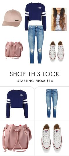 """Cold day"" by brittanyr327 ❤ liked on Polyvore featuring Topshop, J Brand, Converse and Billabong"