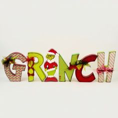 Grinch. I love the font and animation of these letters!