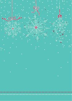 FREE printable Winter snowflake border scrapbook paper