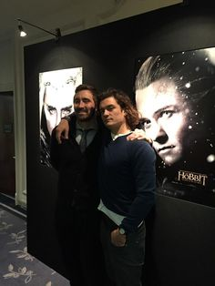 """@TheHobbitMovie @WarnerBrosUK @wbpictures 'Elves' uurrrrggghhh!"" via Richard Armitage. Love the friendship they have."