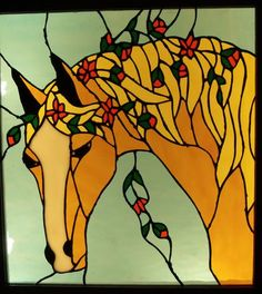 Horse - Delphi Stained Glass