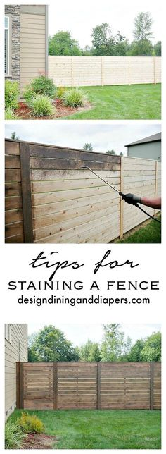 How to build a DIY backyard fence, part II | Pinterest | Mid-century ...
