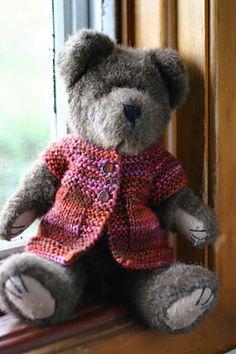 Ravelry: Luna Doll Sweater pattern by Elizabeth Murphy