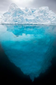 Turquoise Iceberg, Greenland.