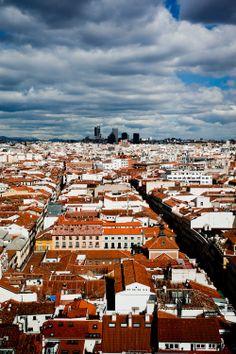 Madrid desde el cielo. Spain.
