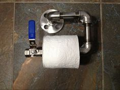 Stainless Steel Pipe Single Roll Toilet Paper Holder: