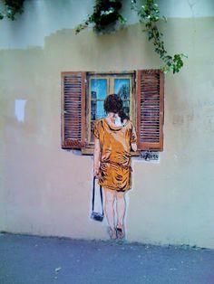 Sunday Street Art : Jana und JS - rue de l'Espérance - Paris 13