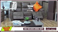 Colt Recliner Lounge Suite Corner Couch, Lounge Suites, Recliner, Mattress, Upholstery, Furniture, Home Decor, Corner Sofa, Chair