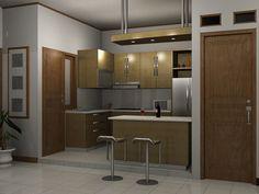 Desain Dapur Mungil Minimalis Untuk Bunda -  Dapur adalah salah ruangan inti dalam suatu rumah, keberadaan dapur juga mempengaruhi semangat penghuninya untuk melakukan aktivitas sehari-harinya. Mengapa? Karena dari dapurlah, makanan yang diterima tubuh diolah dan disajikan sesehat, selezat dan secantik mungkin untuk menarik selera kita.... - http://1rumah.net/dapur/desain-dapur-mungil-minimalis-untuk-bunda.html