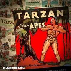 """By @Culturizando 7 de enero de 1929 aparece #Tarzán una de las primeras historietas de aventuras. Como lógica consecuencia del éxito obtenido por las novelas de Edgar Rice Burroughs publicadas por primera vez en 1914 y en su paso por la pantalla grande en forma de películas mudas y sonoras en el día de hoy hace su aparición en varios diarios norteamericanos tiras de cómic de """"Tarzán de los monos"""" que bajo la pluma de Harold Foster serán publicadas durante sesenta días en tiras diarias de…"""