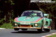 Bob Wollek / John Fitzpatrick - Porsche 935K2 - Vaillant-Kremer-Team - ADAC 1000Km Rennen Nürburgring - 1977 World Championship for Makes, round 4