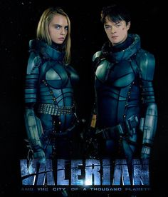 On July the major motion picture, Valerian and the City of a Thousand Planets, makes its debut in theaters for fans of science fiction comics. Cara Delevingne Valerian, Planet Movie, Space Movies, Dane Dehaan, Adventure Movies, Movies To Watch Online, About Time Movie, Streaming Movies, Voyage