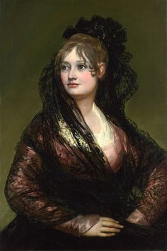 Portrait of Doña Isabel de Porcel by Francisco Goya - Francisco de Goya - Wikimedia Commons