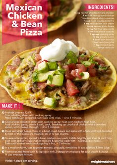 A dish the whole family will love! These Mexican Pizzas are piled high with…