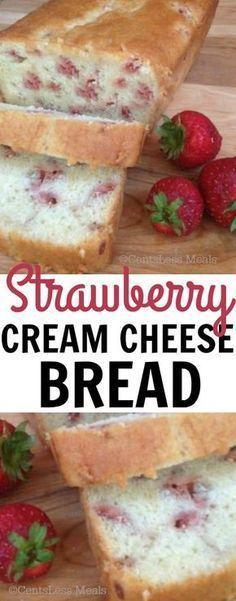 Strawberry Cream Cheese Bread Recipe