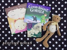 Bedtime books for babies and toddlers.