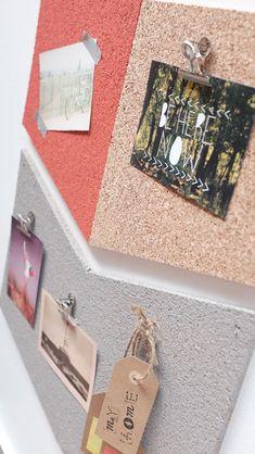 DIY : Un panneau façon pêle-mêle en liège