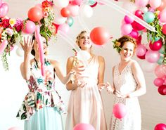 From fancy tea parties to cozy camping trips, here are 100 bridal shower themes…