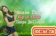 HOKI368.COM - Bonus Saldo Idr 8.000 Tanpa Rollover