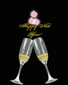 Cheers to Last Night of the Year - Happy New Year