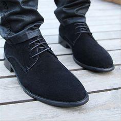 2016 Erkek Süet Klasik Ayakkabı Modelleri