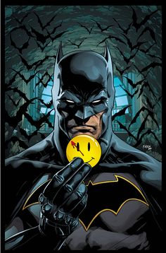 "Watchmen Lenticular Covers For Batman And Flash ""The Button"" Story Won't Be In Previews – Retailers Have To Order Now"