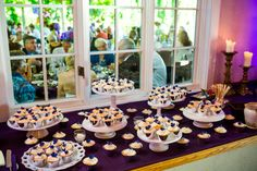 Wedding cupcakes from The Cakewalk Shop.  Photo by Wallflower Photography