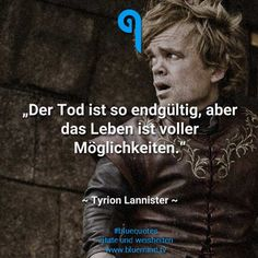 The best Game of Thrones quotes - bluemind.tv , Game of Thrones is perhaps the best series in the world and doesn& just shine with sex and violence. Here are our 30 best Game of Thrones quotes. Game Of Thrones Tyrion, Game Of Thrones Poster, Game Of Thrones Books, Game Of Thrones Quotes, Game Of Thrones Funny, Maisie Williams, Funny Videos, Game Of Throne Lustig, Game Of Thrones Premiere