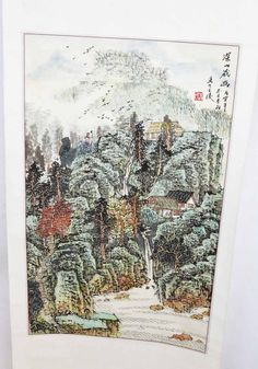 antique Chinese Scroll Painting...2goodponiesvintage, $995.00