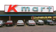 The Kmart store front at the old Waterloo Square shopping mall.