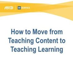 Great article on how teachers can improve their instruction.