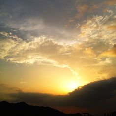 غروب الشمس  #jazan (at Faifa)