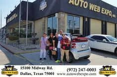 https://flic.kr/p/LEayyx | Happy Anniversary to Francesca & Mary on your #Smart #fortwo from George Ondarza at Auto Web Expo Inc! | deliverymaxx.com/DealerReviews.aspx?DealerCode=J789