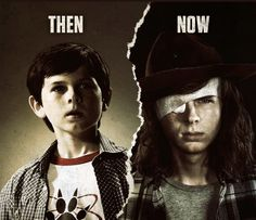 He has grown up so much! I def like older Carl