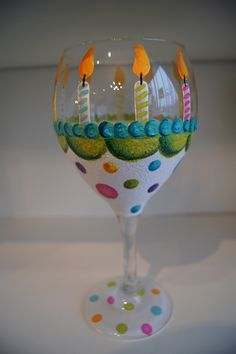 Wine Glass Decorations Ideas | Gallery of How to Decorate Wine Glasses Using Paints